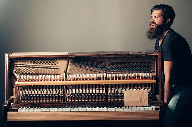 Como transportar um piano?