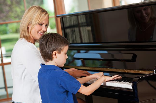 piano a quatro mãos
