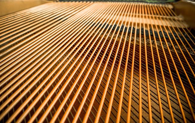 Cordas do Piano
