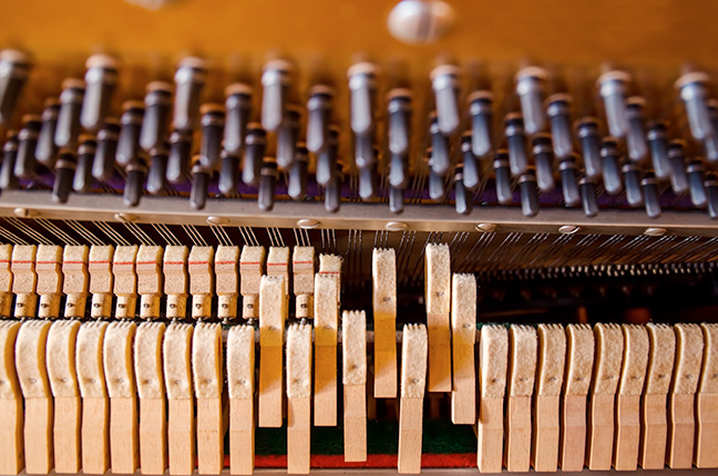 Martelos do piano