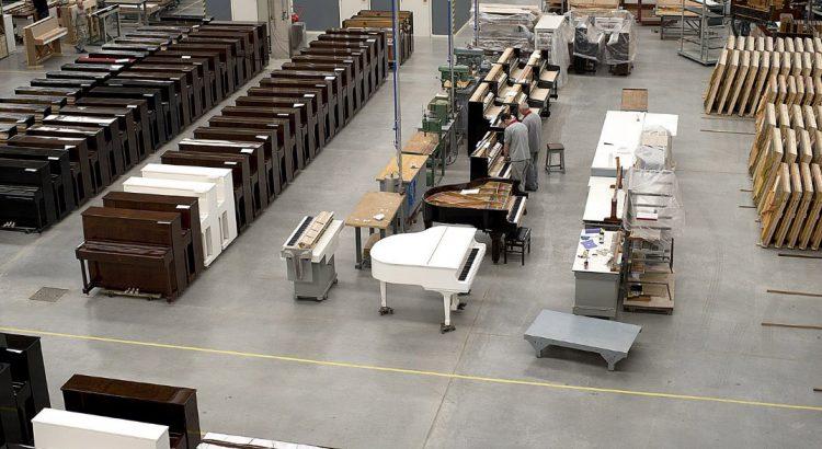 Fabricação de Pianos