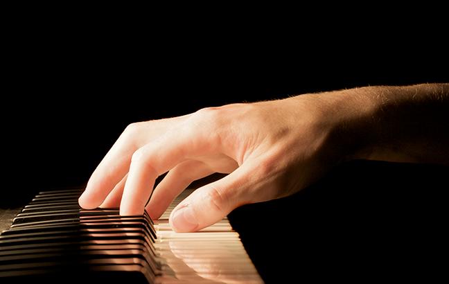 Escalas maiores piano