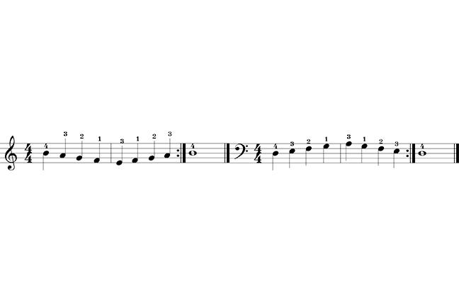 Notas piano
