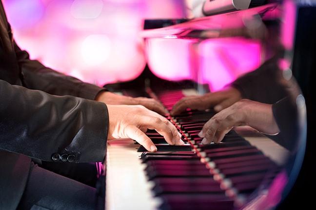 Postura das mãos no Piano