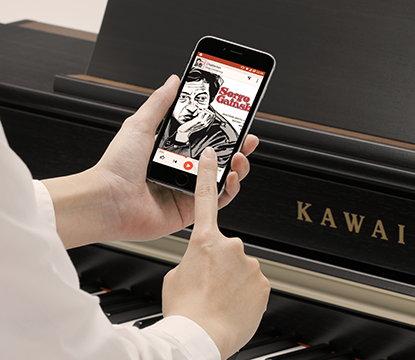 Demonstração - Bluetooth em pianos digitais