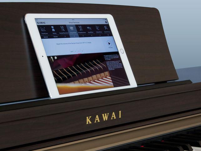 Piano Kawai possibilita conexões entre equipamentos