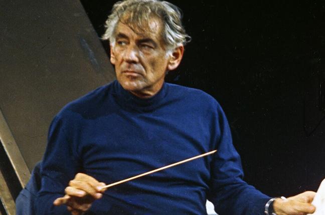 Leonard Bernstein maestro