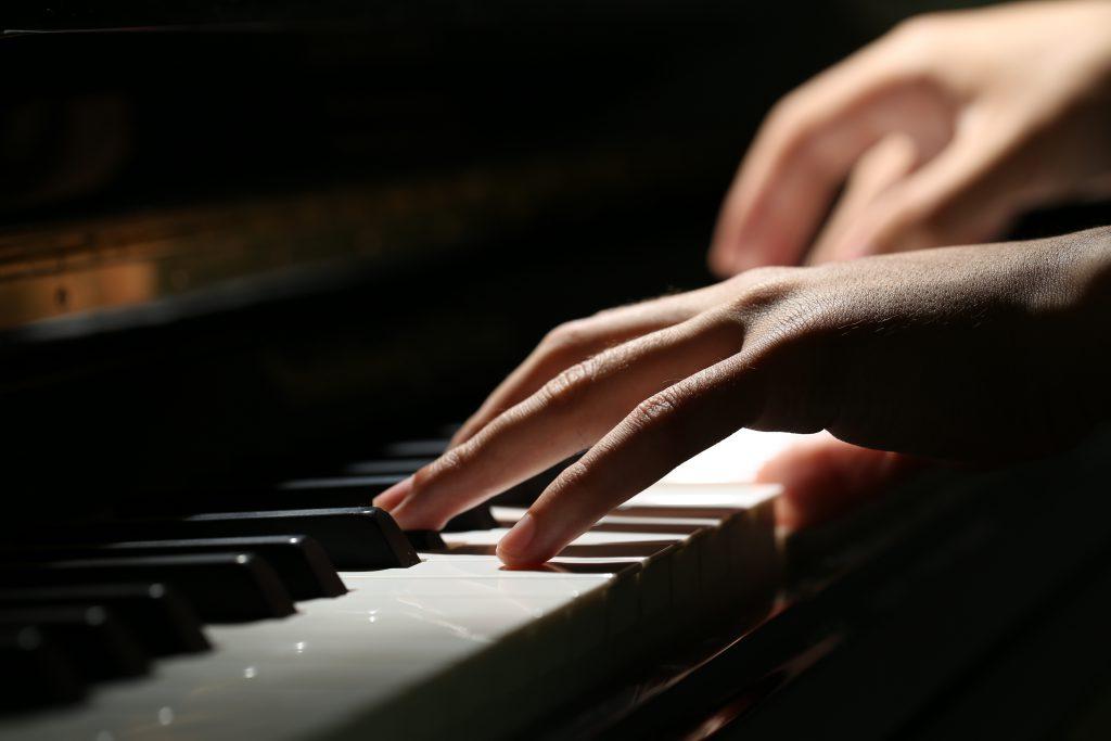 apresentação de piano