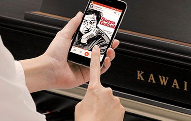 Demonstracao - Bluetooth em pianos digitais