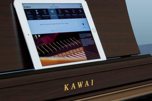 Pianos digitais em estudios