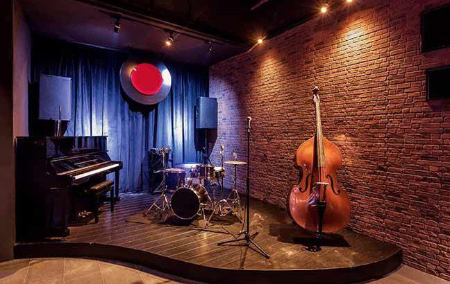 interior de um bar jazz
