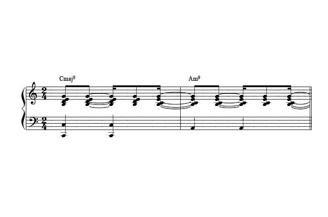 partitura para tocar bossa nova no piano