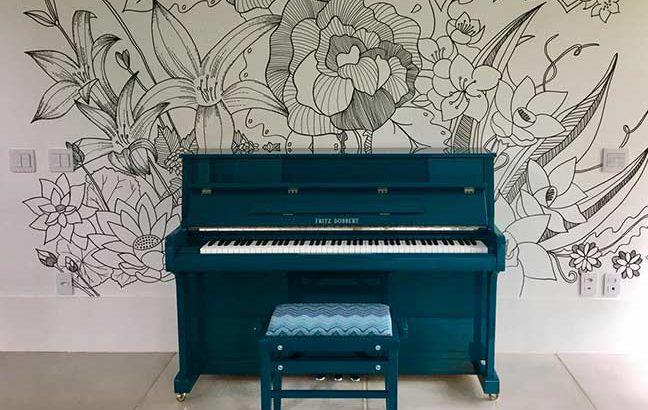 piano personalizado da Fritz Dobbert