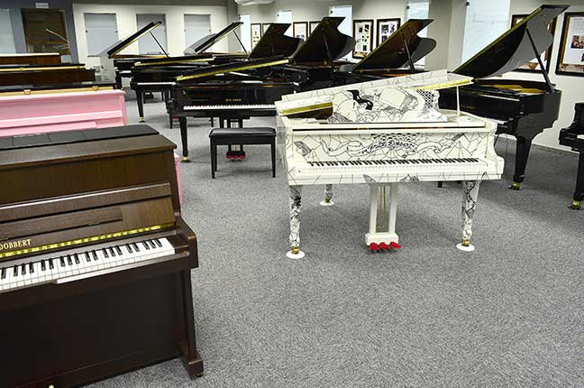 pianos personalizados Fritz Dobbert
