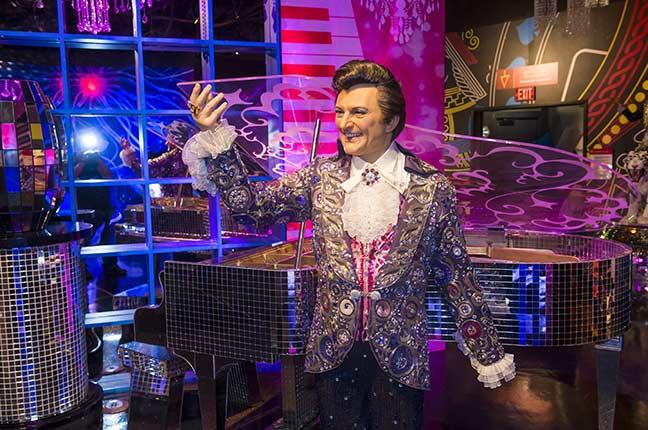 Liberace no Museu Madame Tussauds