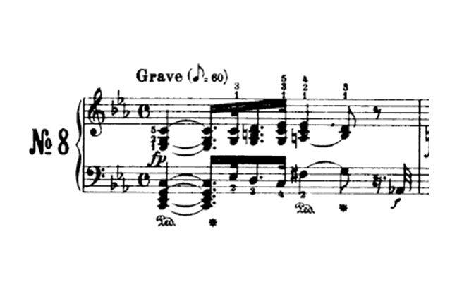 sonata para piano número 8