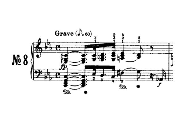 primeiro movimento sonata para piano número 8