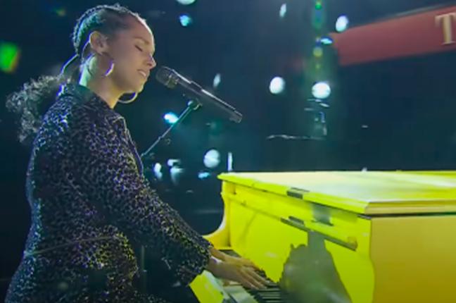 Alicia Keys pianista do pop