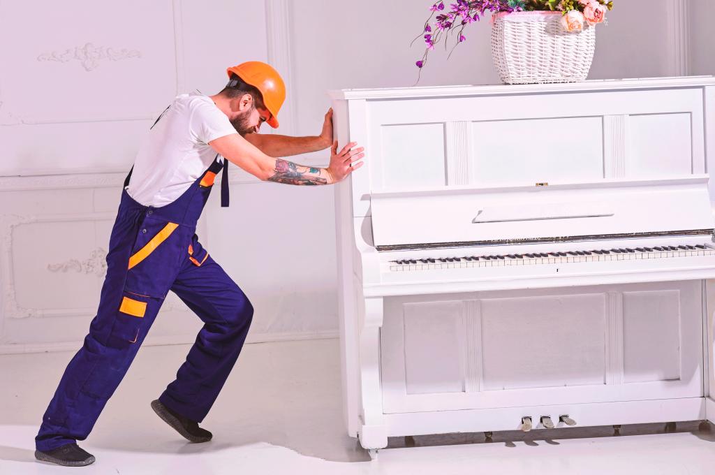 serviço de aluguel de piano